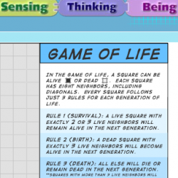 Game of Life: Computer Simulation of Evolution