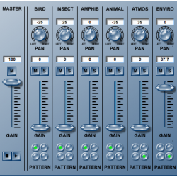 Sound Mixer: A Multi-track Mixer of Animal Sounds