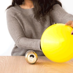 Remote Control Roller: Experiment with Static Electricity