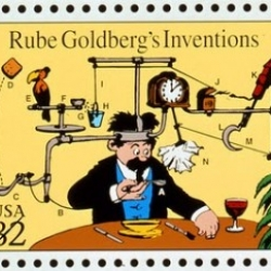 Homemade Rube Goldberg Machine