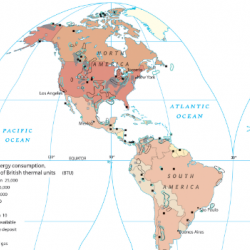 Energy Use in the Americas
