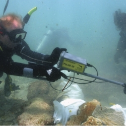 Excavating and Mapping Under Water