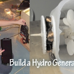 Build Your Own Hydroelectric Generator