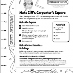 Make Ziff's Carpenter's Square