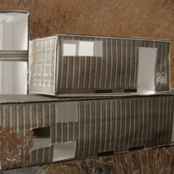 Make a Model of a Home Made From Shipping Containers