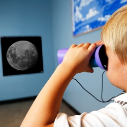 Exploring the Solar System: Hide and Seek Moon