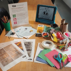 Watch and Create! Creativity For Sustainability
