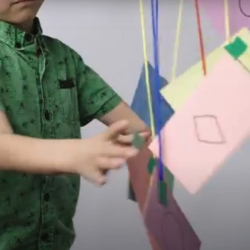 How to Learn Basic Shapes by Making a Shape Mobile